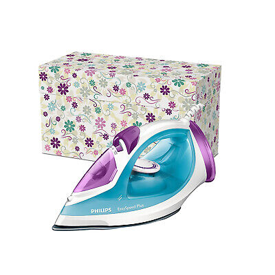 Philips White / Blue GC2045/26 Easy Speed 2300W Steam Iron Ceramic Soleplate