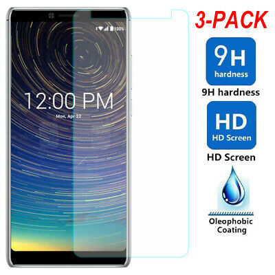 3-PACK For Coolpad Legacy Premium Tempered Glass Screen Protector Guard Clear
