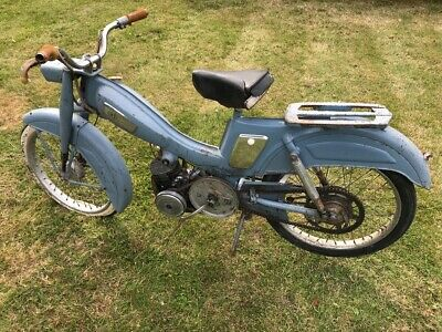 Mobylette motocomfort AU68 1967 French moped barn find spares restoration