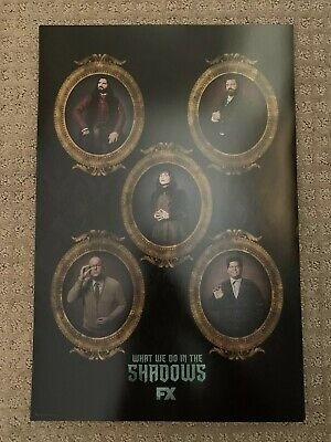 "SDCC 2019 WHAT WE DO IN THE SHADOWS POSTER 12""x18"" COMIC CON EXCLUSIVE FOX"