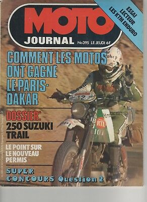 MOTO JOURNAL N°395 1979 Suzuki 250 trial - KTM Enduro125 175 250