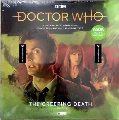 Doctor Who Limited Edition Neon Green Vinyl Record - The Creeping Death. 2019