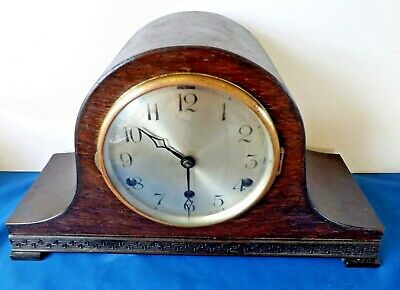 "Antique /Vintage ""Anvil Made In Baden""  Westminster Chime Clock For Restoration."