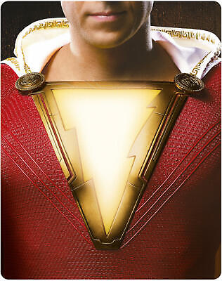 Shazam! Limited Edition 4K Ultra HD Blu-ray Steelbook new