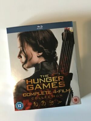 The Hunger Games: Complete 4-film Collection (Box Set) Slipcase [Blu-ray] NEW