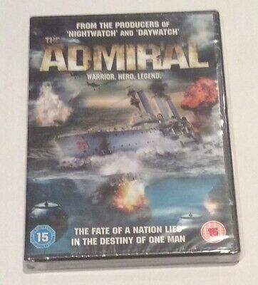 The Admiral [DVD] [2008], DVD, **NEW & SEALED** FREE & Fast UK Delivery