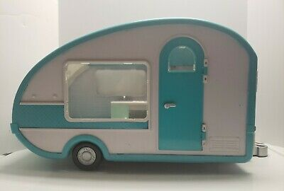 Lori By Battat Camper, Our Generation Doll  Interior Lights Up Working!