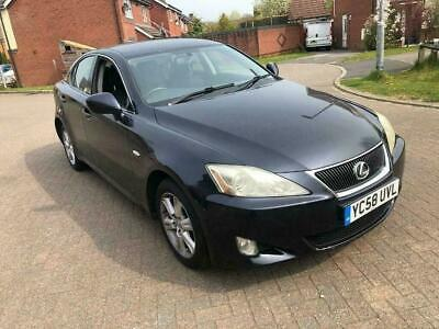 2009 Toyota Lexus IS - one year mot- strong service history - warranted miles...
