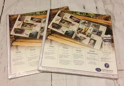 Creative Memories Lot Of Two 12x12 SPARGO Refill Scrapbook Pages New In Package
