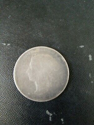 1872 Half Dollar / Fifty Cents - Silver Canadian Coin