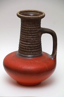 Vintage West Germany Tonnieshof Carstens Pottery Vase #7637-25