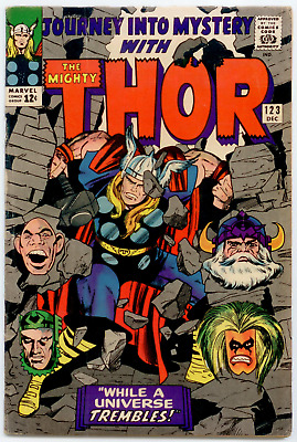 Journey Into Mystery #123 FN- 5.5  Thor, Absorbing Man