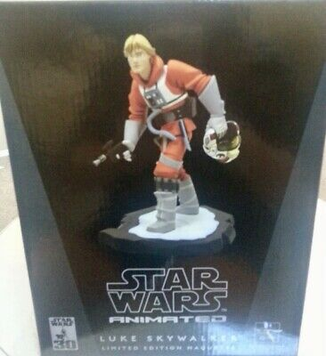Star Wars,Gentle Giant,Luke Skywalker maquette, statue,bust. New,sealed!