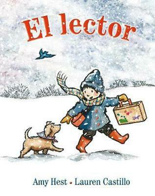 El Lector = The Reader by Amy Hest (Spanish) Hardcover Book Free Shipping!