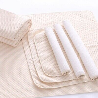 Soft Reusable Baby Infant Waterproof Urine Mat Cover Washable Changing Pad Big