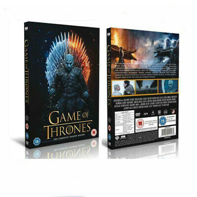 2019 Game Of Thrones DVD Box Sets The Complete Season Brand New Sealed