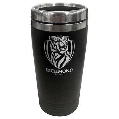 Afl Richmond Tigers 450Ml Stainless Steel Coffee Travel Mug
