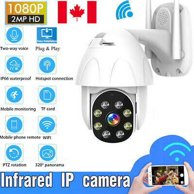 1080P 2MP HD WIFI IP Camera Wireless Outdoor CCTV Smart Home Security IR Camera