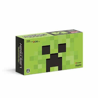 MINECRAFT NEW Nintendo 2DS LL CREEPER EDITION Game Console JAPAN OFFICIAL IMPORT