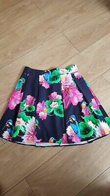Gorgeous Girls Ted Baker Navy Skirt Age 12 Years