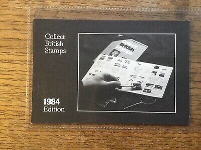 Stanley Gibbons Collect British Stamps 1984 Advert Card #4250