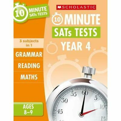 Grammar, Reading and Maths Year 4 (10 Minute SATs Tests - Paperback / softback N