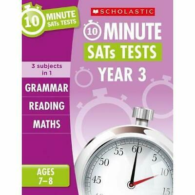 Grammar, Reading and Maths Year 3 (10 Minute SATs Tests - Paperback / softback N