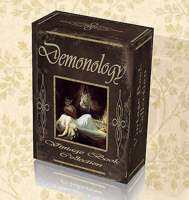 161 DEMONOLOGY & Witchcraft Books on DVD Wicca Occult Pagan