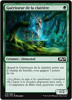 MTG Magic M20 - (x4) Healer of the Glade/Guérisseur de la clairière, French/VF