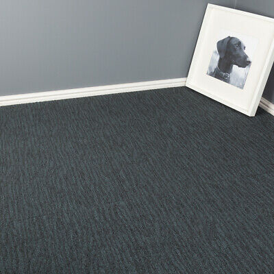 Quality Office Carpet Tiles - Grey - 50 x 50cm - 5m2