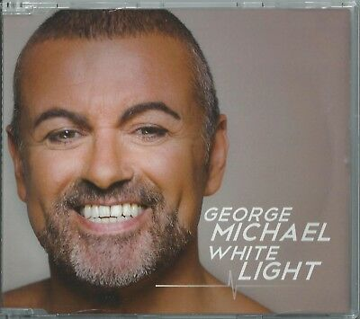 George Michael - White Light / Song To The Siren 2012 Eu 4 Track Cd Single