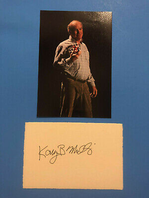 Kary Banks Mullis (Nobel Prize Chemistry 1993) Signed Card with Photograph