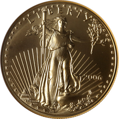 2006-W Gold American Eagle $50 NGC MS70 Burnished Brown Label - STOCK