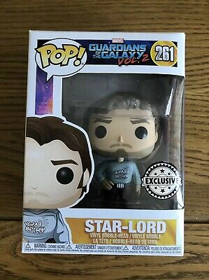 Funko Pop Vinyl ~ Marvel Guardians of the Galaxy Vol.2: Star Lord Exclusive #261