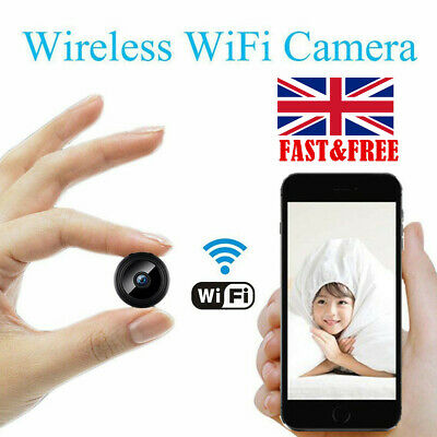 Mini Spy Camera Wireless Wifi IP Home Security HD 1080P DVR Night Vision Remote~