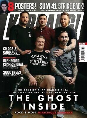 Kerrang 1783 27th July 2019 The Ghost Inside group cover Ready to send today!!!!
