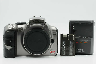 Canon EOS Rebel 6.3MP Digital SLR Camera Body 300D Silver                   #325