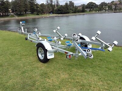 AL4.8M13BR SeaTrail Boat Trailer, suits Aluminium Boats/ Tinnys from 3.7m to 5.0