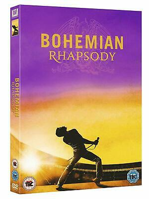 Queen Bohemian Rhapsody Hit Musical Film Movie DVD UK New Free P&P 2018