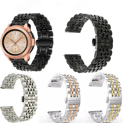 For Samsung Galaxy Watch 42mm 46mm Stainless Steel Band Wristband Bracelet Strap