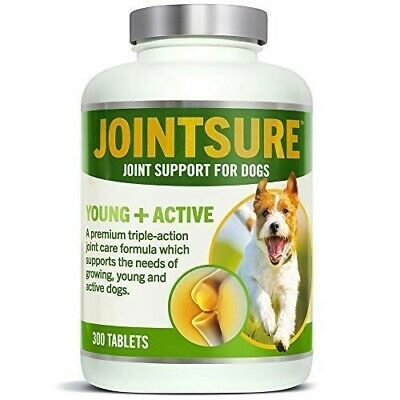 JOINTSURE Young + Active Joint supplements for dogs. Triple-action formula!