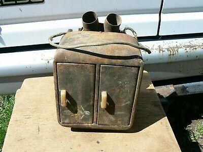 vintage international barn door style heater ford chevy dodge rat rod