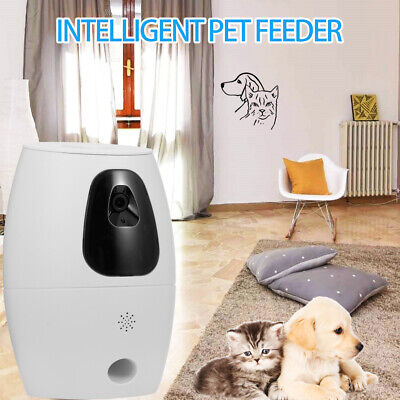 720P Dog Camera Treat Dispenser Pet Feeder Automatic WiFi Pet Camera APP D3A5