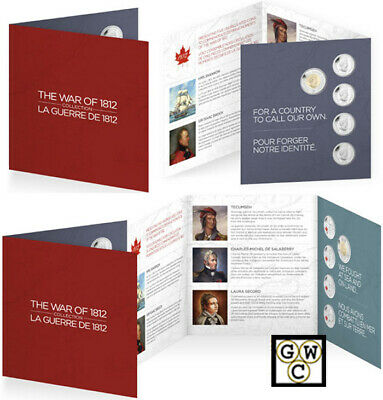 2013 Commemorative Coin Gift Set 'War of 1812' (13197) (OOAK)
