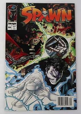 Spawn 20 Very Nice 9.0 VF/NM Example Image 1994 UPC NEWSSTAND Variant