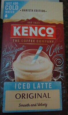 Kenco 3 In 1 Smooth White Coffee With Sugar 5 Sachets 100g