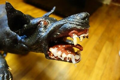 Possessed Satanic Demon Vampire Rabid Dog Latex Halloween Prop Morris Costumes