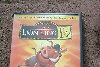 The Lion King 1 1/2 (DVD, 2004, 2-Disc Set) (inv#7)