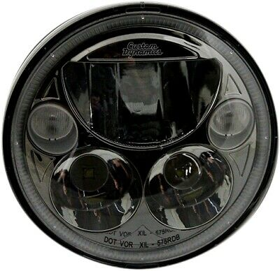 Custom Dynamics TruBeam LED Headlight CDTB-575-B Harley
