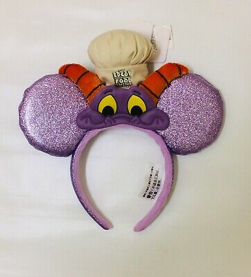 Disney Epcot Food and Wine Festival 2017 Chef Figment Mickey Mouse Ears Headband